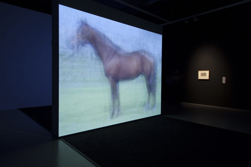 The Still Point of the Turning World - Between Film and Photography Installation view Hiroshi sugimoto